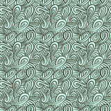Pattern with curls and loops Royalty Free Stock Photography
