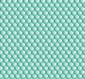 Pattern cyan volume scales. The red scales of a snake, fish, dragon, or other animal, seamless texture Royalty Free Stock Photography