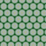 Pattern from daisywheel Stock Photo