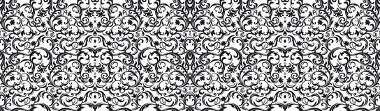 Pattern damask style Royalty Free Stock Images