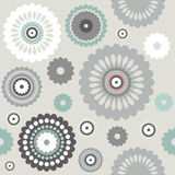Pattern of Decorative flowers Royalty Free Stock Photo