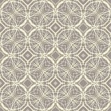 Pattern with decorative shapes in organic brown Royalty Free Stock Images