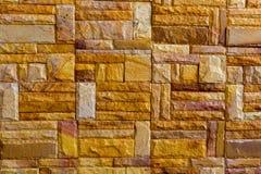 Pattern of decorative slate stone wall Royalty Free Stock Photography