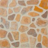 Pattern of decorative slate stone wall Stock Photography