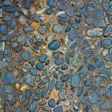 Pattern of decorative slate stone wall Royalty Free Stock Photo
