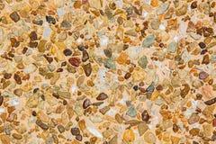 Pattern of decorative slate stone wall Stock Image