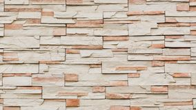 Pattern of decorative slate stone wall Royalty Free Stock Images