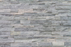 Pattern of decorative slate stone wall surface Stock Photography