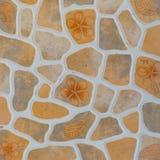 Pattern of decorative slate stone wall surface Royalty Free Stock Photo
