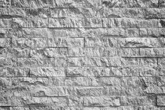 Pattern of decorative slate stone wall surface. For background Royalty Free Stock Photos