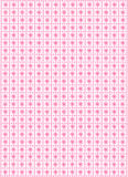 Pattern design on pink Royalty Free Stock Photography