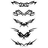 Pattern. Design.Tattoo. Stock Images