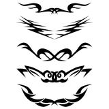 Pattern. Design.Tattoo. Royalty Free Stock Image
