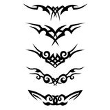Pattern. Design.Tattoo. Stock Image