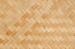 Pattern and design of thai interlace. Pattern and design of Thai style bamboo handcraft Royalty Free Stock Images