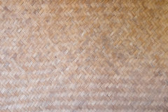 Pattern and design of Thai style bamboo handcraft royalty free stock image