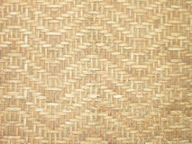 Pattern and design of Thai style bamboo handcraft Royalty Free Stock Photography