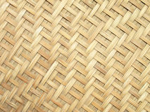 Pattern and design of Thai style bamboo handcraft Royalty Free Stock Photo