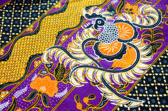 Pattern designs on the fabric Royalty Free Stock Photography