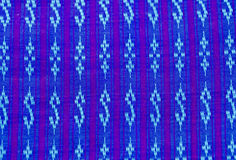 Pattern designs on the fabric Stock Images
