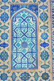 Pattern detail, Samarkand Registan, Uzbekistan Stock Images