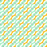 Pattern with diagonal waves Stock Image