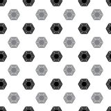 Pattern from diamond Royalty Free Stock Photos