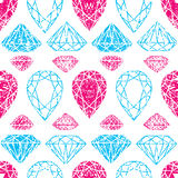 Pattern from diamond Stock Photography