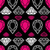 Pattern from diamond Stock Photo