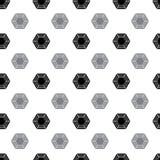 Pattern from diamond Royalty Free Stock Photos