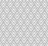 Seamless Geometric Gray and White Striped Rhombuses Pattern Background vector illustration