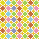 Pattern diamonds seamless. Isolated illustration Stock Image