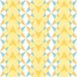 The pattern of diamonds and triangles Royalty Free Stock Photos