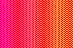 Pattern of Different Sized Polka Dots in Random with Repeated Mirror Reflection. Creative Backdrop for Textile, Wrapper. Endless Different Sized Polka Dots in royalty free illustration