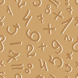 The pattern of digits Royalty Free Stock Photography