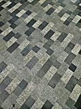The pattern on the dirty floor tiles Stock Images