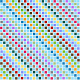 Pattern disorderly squares multicolored Stock Photo