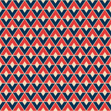 Pattern of divided rhombuses Stock Image