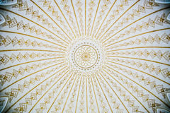 Pattern on Dome Ceiling Royalty Free Stock Photography