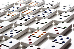 Pattern of dominos Stock Image