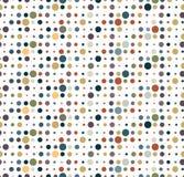 Pattern dot circle earth tone Royalty Free Stock Photo