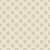 Pattern of dots in art deco style Stock Photography