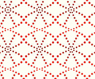 Pattern of dots, shades of orange. Abstract seamless pattern of dots, shades of orange on a white background Royalty Free Stock Photos