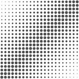 Pattern of dots. Royalty Free Stock Photography