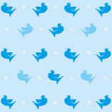 Pattern with dove Royalty Free Stock Images