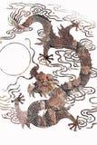 Pattern of dragon Stock Photos
