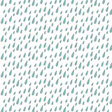 The pattern of drops of rain Royalty Free Stock Image