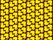 Pattern duck graphic Stock Image