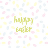 Pattern with easter eggs Royalty Free Stock Photography