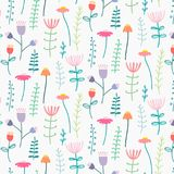 Pattern With Elegant Lovely Flower. Stock Photos